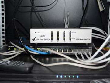 Network switch and cabling